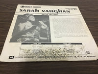 Sarah Vaughn Belts the Hits LP