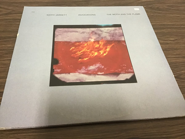 Keith Jarrett Invocations the Moth and the Flame LP
