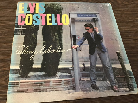 Elvis Costello Taking Liberties vinyl record as is