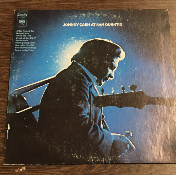 Johnny Cash at San Quentin LP