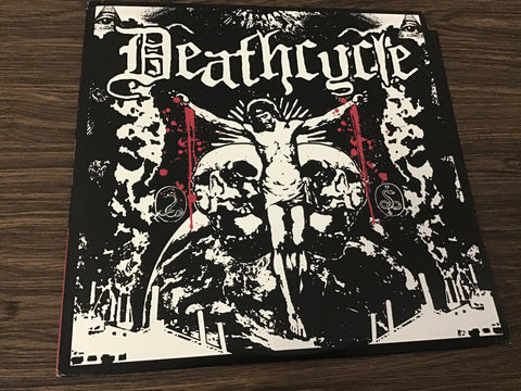Deathcycle Colored Vinyl Record as is