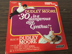 30 is a dangerous age, Cynthia sound track vinyl record