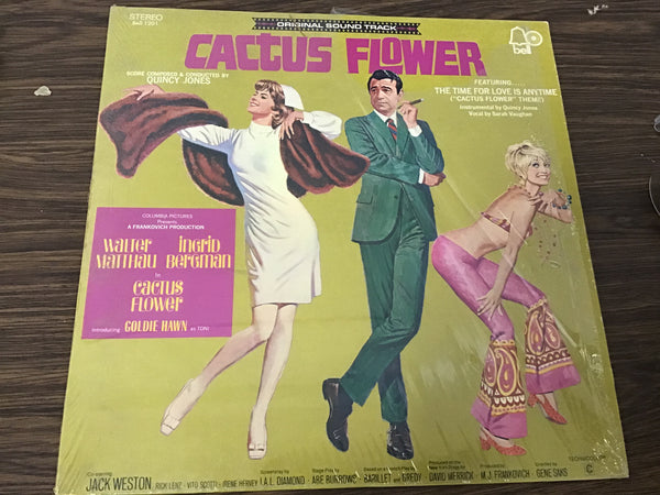 Cactus Flower Sound Track LP