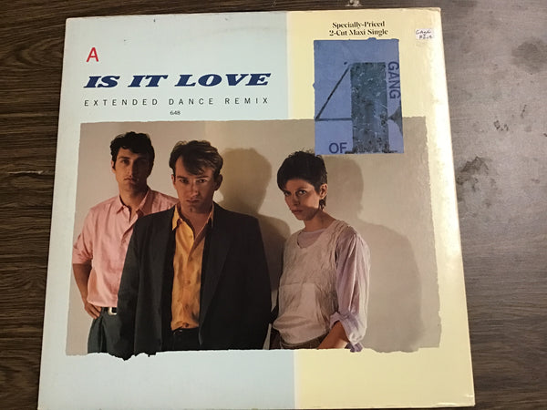 Gang of Four Is it Love 12""