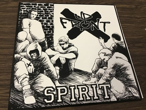 Up Front Spirit Colored Vinyl Record as is
