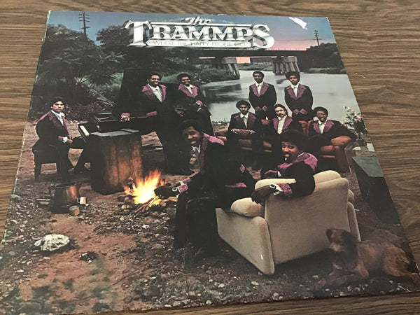 The Tramps Where the happy go LP