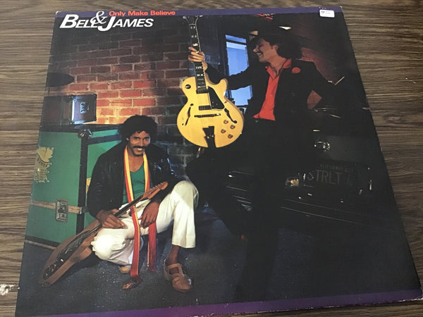 Bell and James Only Make Believe LP