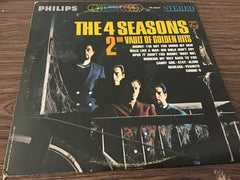 The Four Seasons 2nd Vault of Golden Hits vinyl record as is