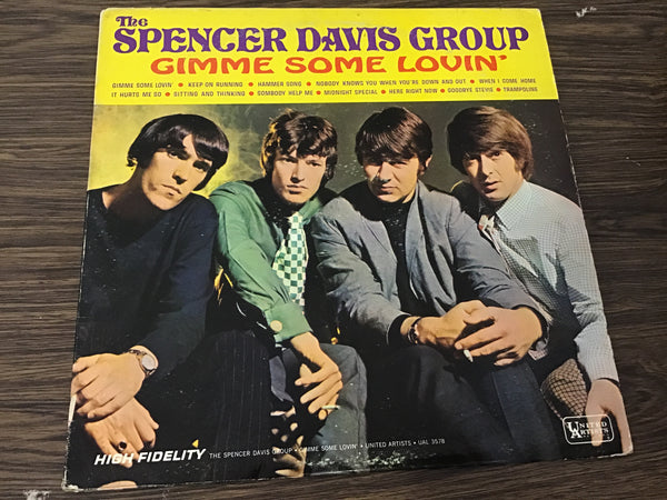 The Spencer Davis Group Gimme some Lovin' LP