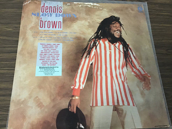 Dennis Brown Slow Down LP