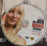 The Big Bang Theory (3) DVDs