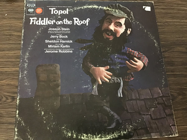 Fiddler on the Roof Soundtrack LP