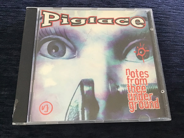 Pigface Notes from Ther Underground CD