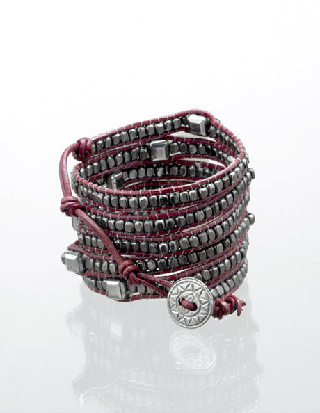 Sugar Plum Wrap Bracelet