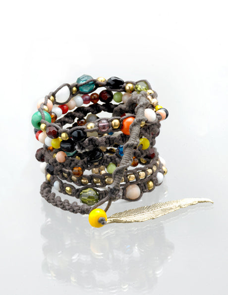 Hippie Chick Wrap Bracelet