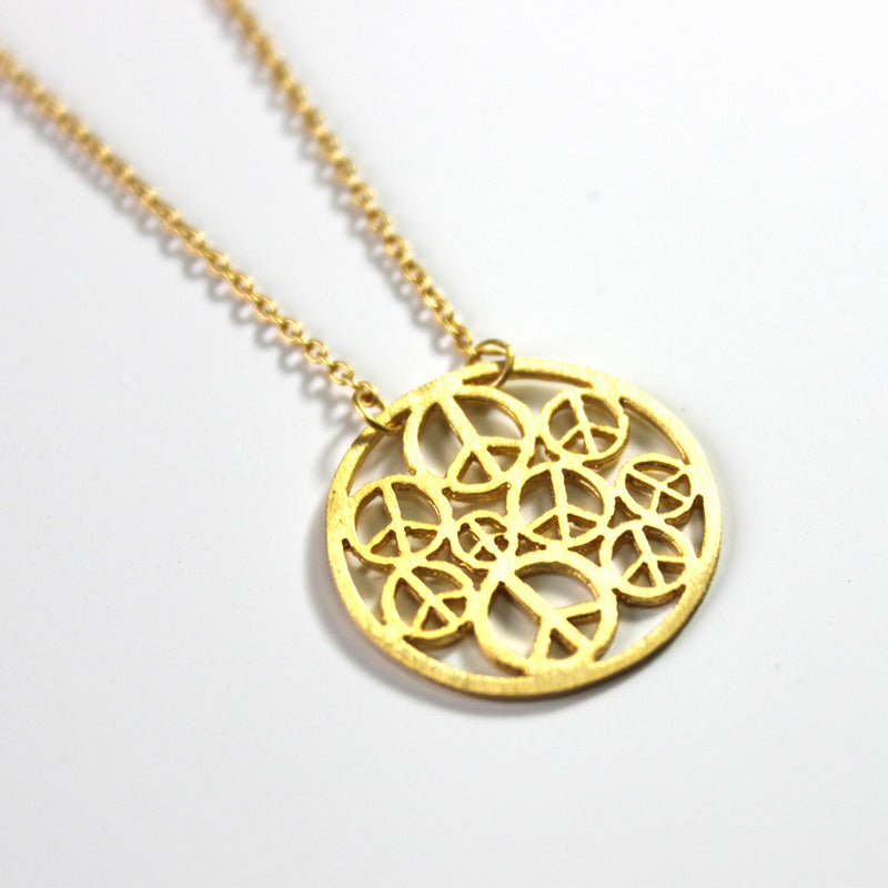Peace Circle Necklace