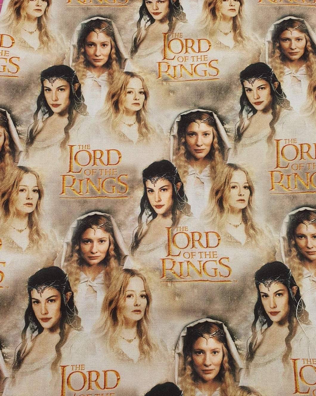 Lord of the Rings Cotton Fabric - Females