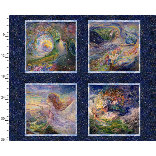 Ray of Hope Fabric Collection - Small Squares Panel
