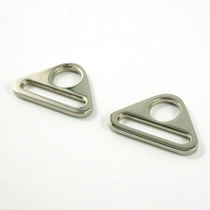 "Triangle Rings: 1"" (25mm) (2 Pack) - Nickel"