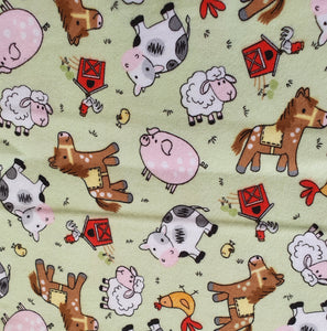 Farm Yard Cotton Flannel