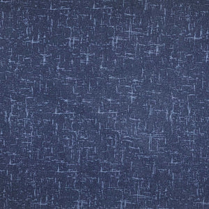 Textured Blender - Navy - per half metre