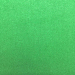 Homespun Cotton - Bright Green - per half metre