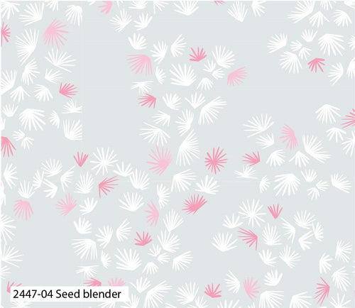 Fabric Remnant - Eastern Botanical - Seed Blender