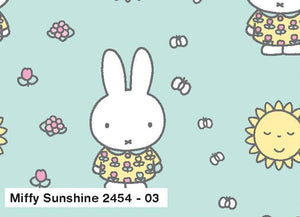Miffy Cotton Fabric - Sunshine