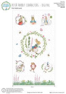 Peter Rabbit Fabric Collection - Panel