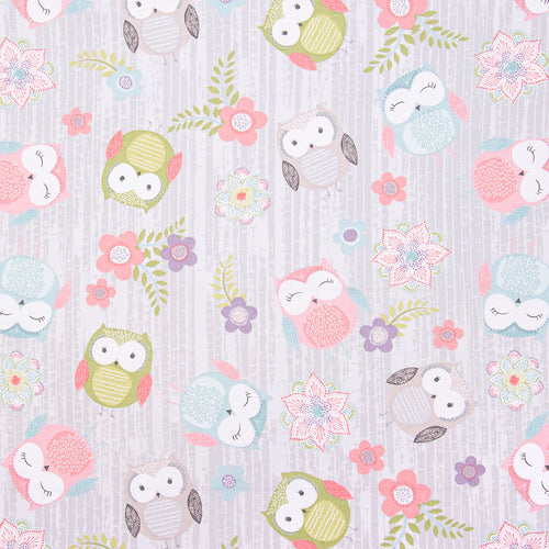 Hootsie Cotton Print - Owls