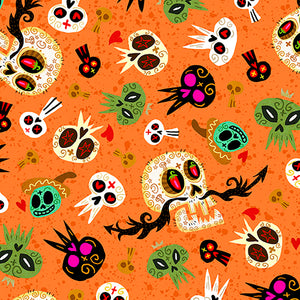 Hot Tamale Fabric Collection - Skulls