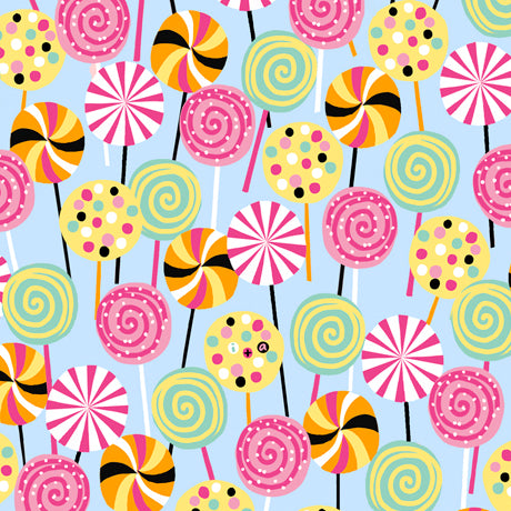 Sugar Rush Fabric Collection - Lollipops