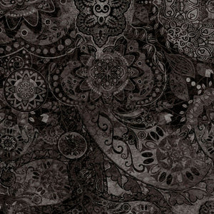 Bohemian Rhapsody Cotton Fabric - Night Flight