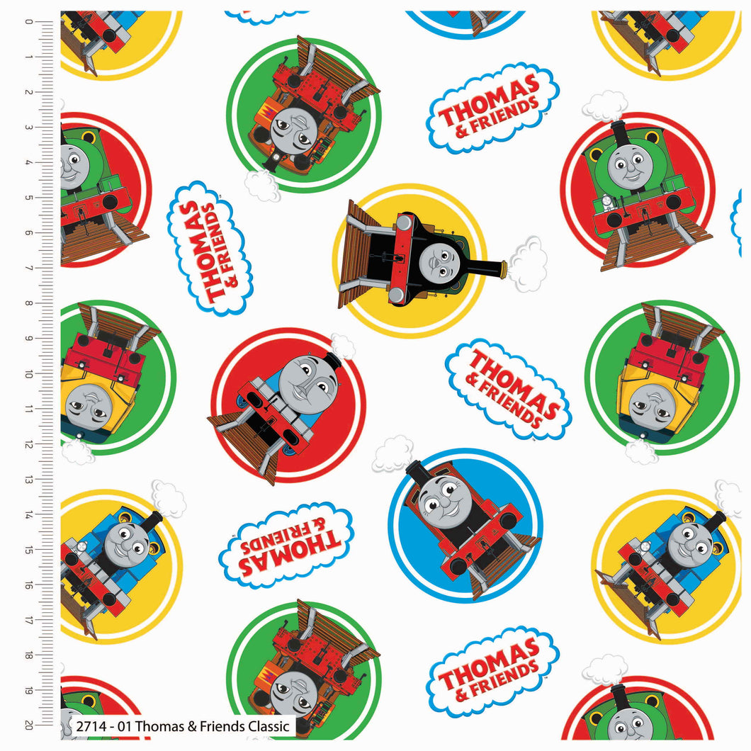 Thomas and Friends Classic Cotton Print - Thomas and Friends Classic