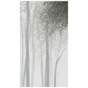 Artworks XV - Grey Ombre Tree Panel