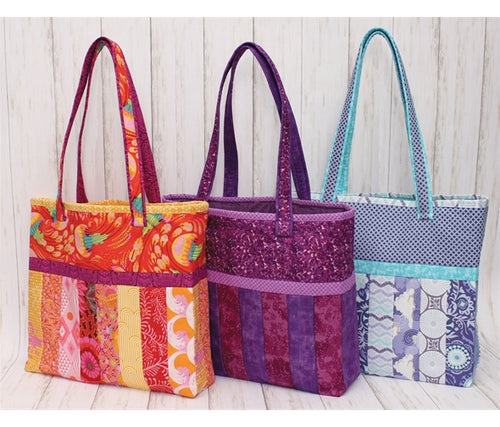 Quilt As You Go - Tote Bag - Sophie