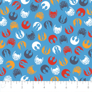 Star Wars Cotton Print - Logos and Masks