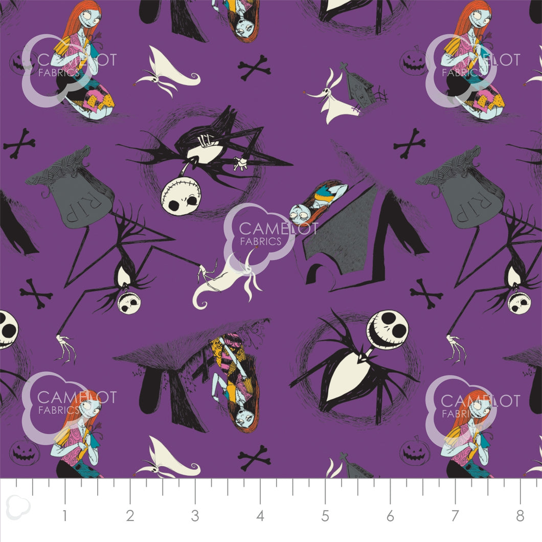 Nightmare Before Christmas, Jack is Back - Jack and Sally - per 1/4 ...