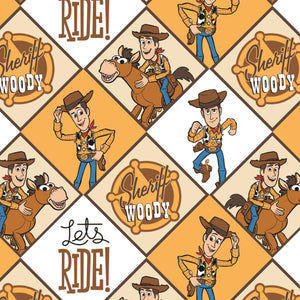 Disney Toy Story - Sheriff Woody - 100% cotton fabric