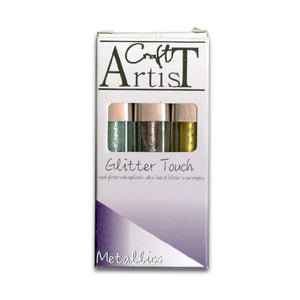 Craft Artist GlitterTouch - Metallics