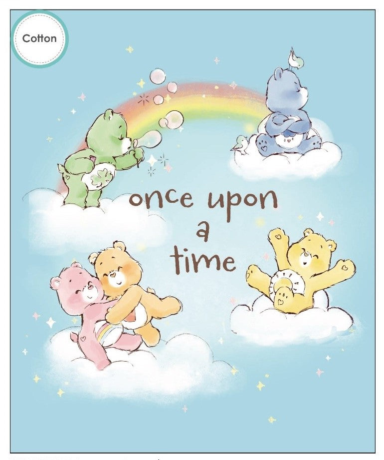 Care Bears Once Upon a Time Cotton Print Panel