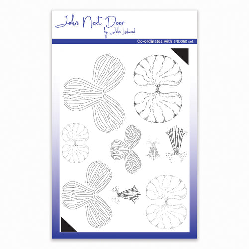 John Next Door Clear Stamp - Orchid