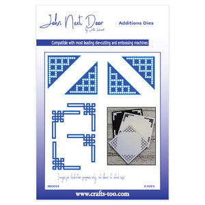 John Next Door Additions Dies - Decorative Corners (8pcs)