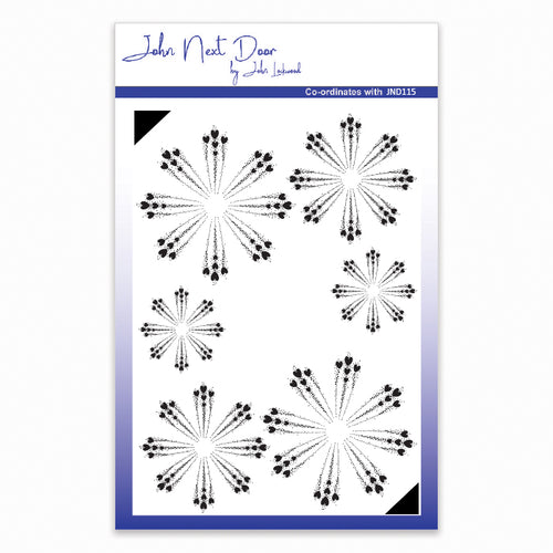 John Next Door Clear Stamp - Cornflower