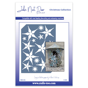 John Next Door Christmas Dies - Starflower Plate