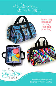 The Luxie-Lunch Bag Pattern by Emmaline Bags
