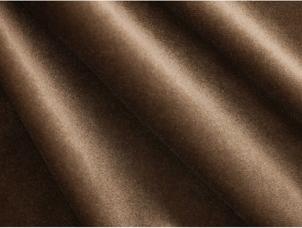 Velour Fabric - Shadow Grey - per half metre