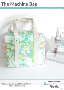 Machine Bag - Sewing by Mrs H Bag Pattern Front
