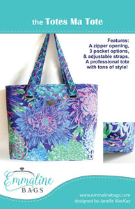 The Totes Ma Tote Pattern by Emmaline Bags