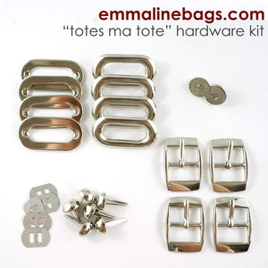 Hardware Kit - Totes Ma Tote - Nickel